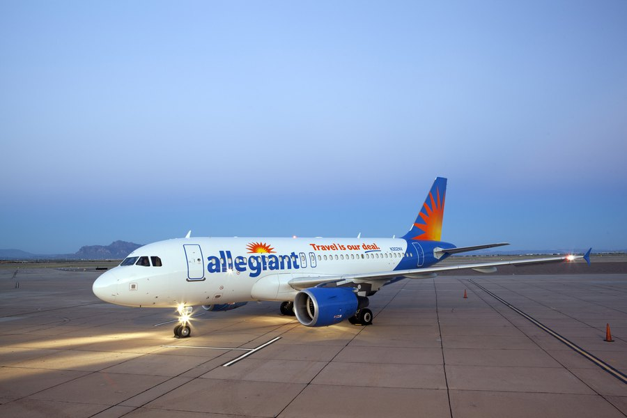 Allegiant Offers New Air Service Between Provo And Tucson