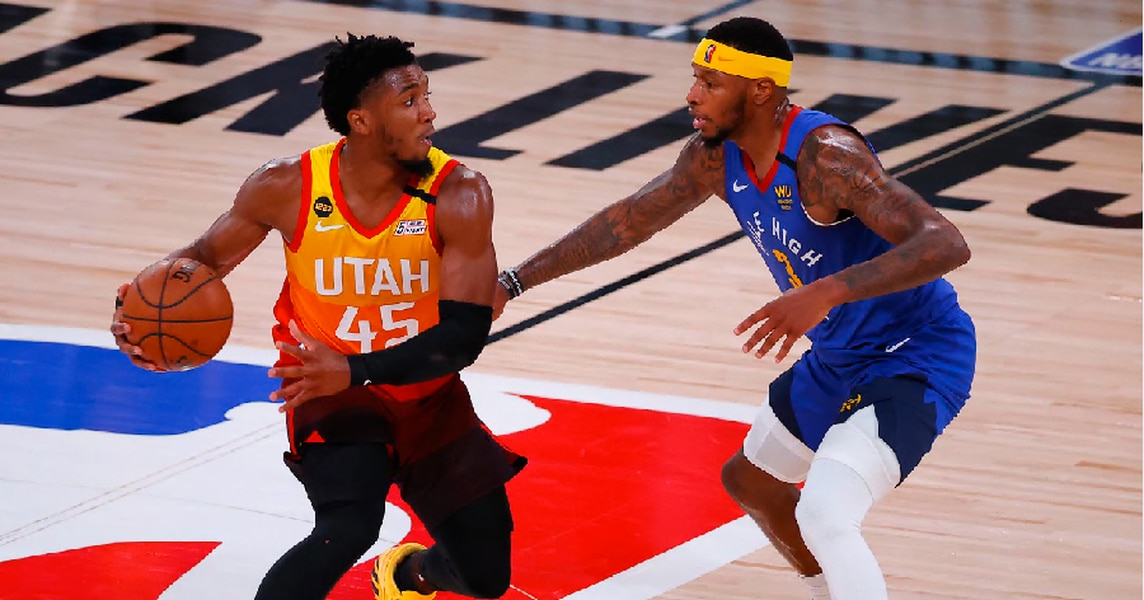 Donovan Mitchell's clutch heroics keep Utah Jazz coming back in loss to Denver