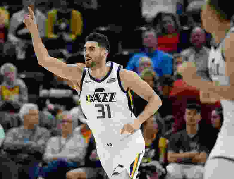 Utah Jazz forward Georges Niang likes to keep things light, but he's bringing increasing heft to the bench