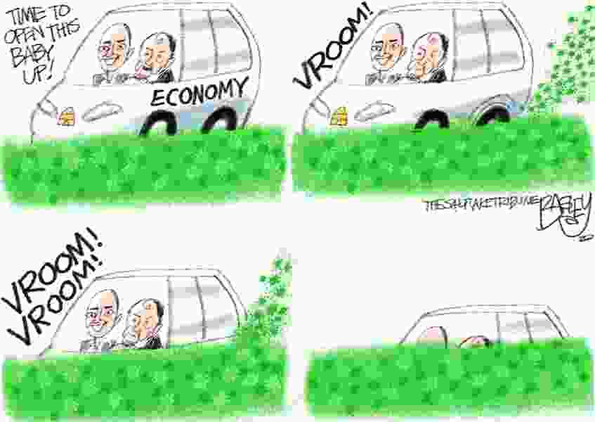 Bagley Cartoon: The Sinking Feeling