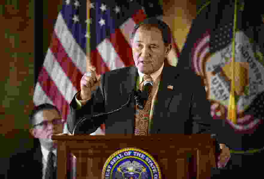 Gov. Gary Herbert is raising money as if he's running for re-election — though he says he's not