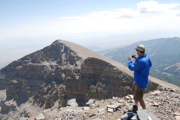 (Brian Maffly | Tribune file photo) Jeff Davis Peak, viewed here from the summit of neighboring Wheeler Peak in Nevada's Great Basin National Park, drew its name from the Mississippi statesman who would later lead the secessionist South during the Civil War. Federal officials are considering proposals to change the 12,775-foot peak's name in light of a national debate over memorializing Confederate icons, whom many regard as champions of racist causes.