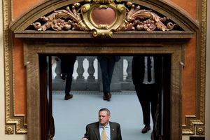 (Francisco Kjolseth     Tribune file photo) Rep. Mark Strong, R-Bluffdale, checks in for a vote on the House floor during the second to last day of the legislative session at the Utah Capitol on Thursday, March 4, 2021.