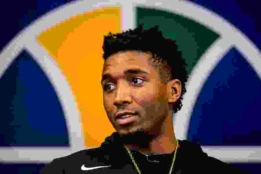 Donovan Mitchell, Tony Bradley have third-year options picked up by Jazz