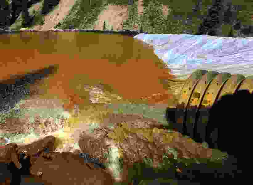 EPA taking 1st big steps to clean up leaking Colorado mines