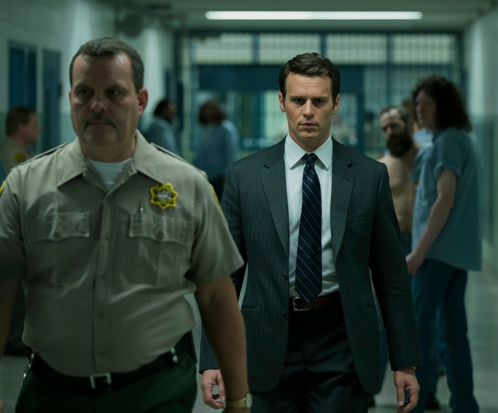 """(Photo courtesy of Patrick Harbron/Netflix) Jonathan Groff as FBI agent Holden Ford in """"Mindhunter."""""""