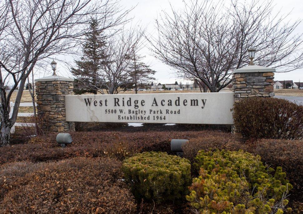 (Rick Egan | The Salt Lake Tribune) West Ridge Academy in West Jordan, Wednesday, Jan. 22, 2020.