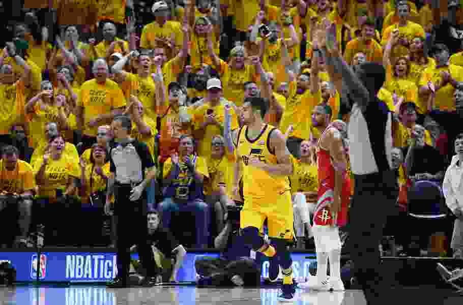 Kragthorpe: Jazz deserved a better sendoff from the home fans after their Game 4 loss