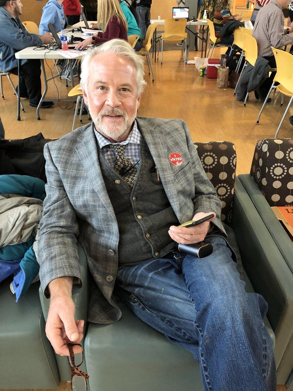 (Taylor Stevens | The Salt Lake Tribune) Tom Beckett, 63, of Salt Lake City, Utah.