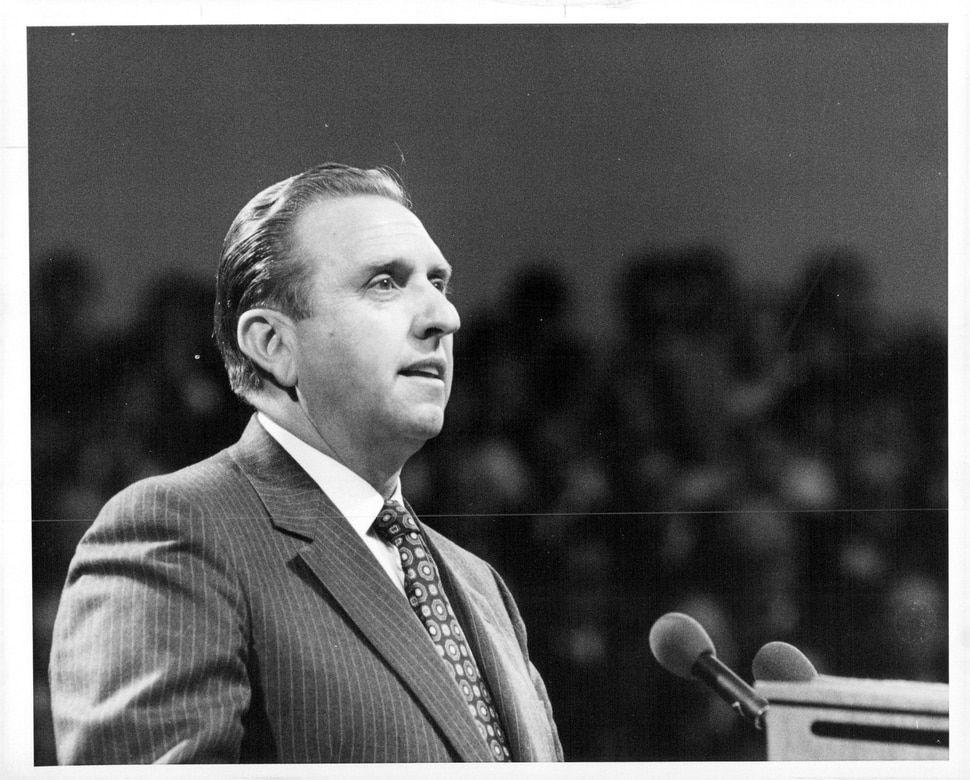 April 22, 1980 Thomas Monson - L.D.S. Conf. 1980. The Salt Lake Tribune