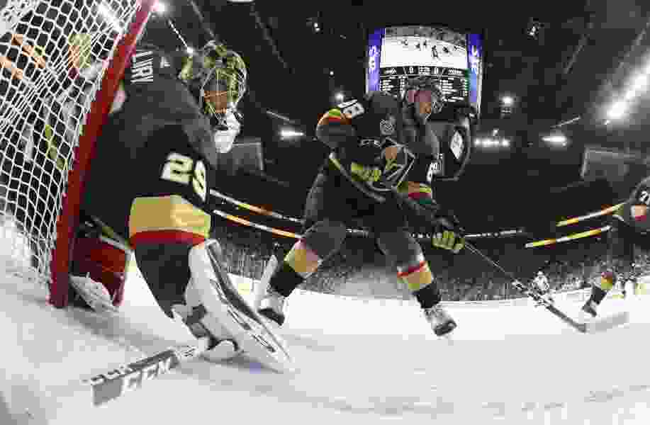 Fresh off their trip to the Stanley Cup Finals, the Vegas Golden Knights are back in town to try to grow their Utah fan base