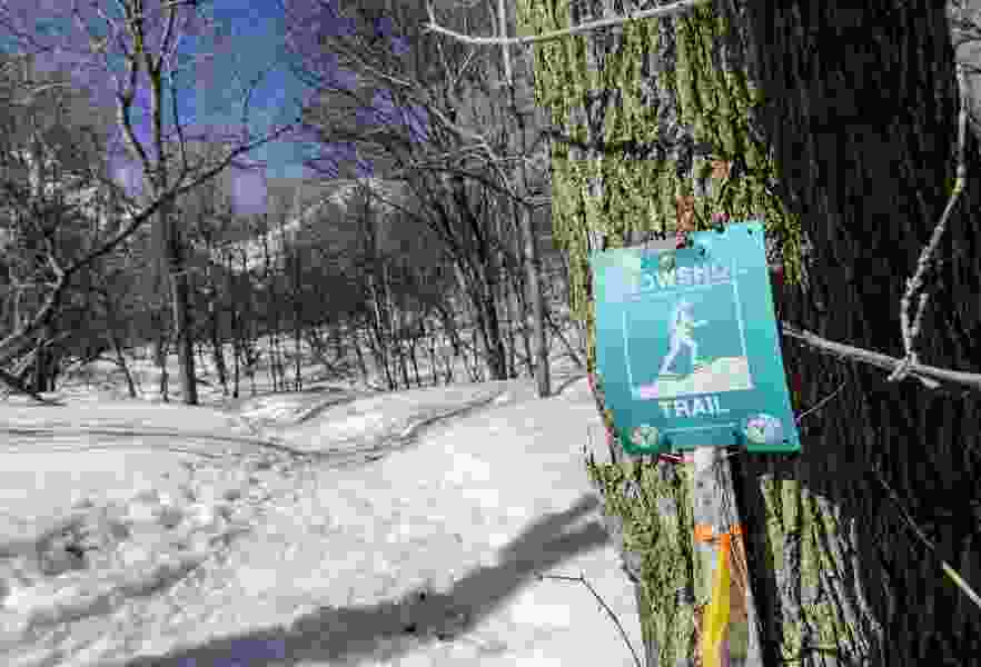 A walk on the cozy side, snowshoeing at Sundance Mountain Resort