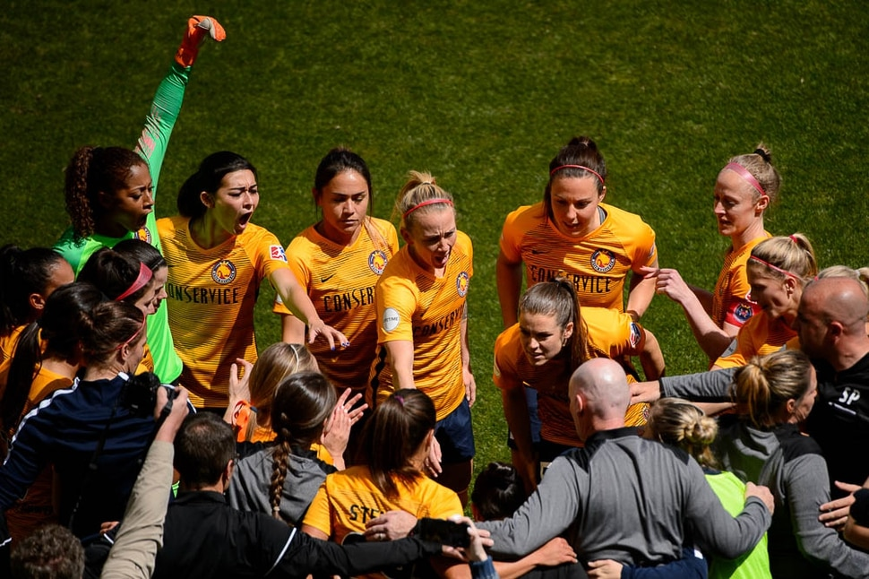 (Trent Nelson | The Salt Lake Tribune) Utah Royals FC hosts the Chicago Red Stars, at Rio Tinto Stadium in Sandy, Saturday April 14, 2018.