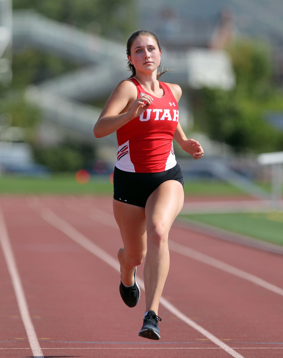 (courtesy University of Utah) Lauren McCluskey is seen on August 30, 2017 in Salt Lake City.