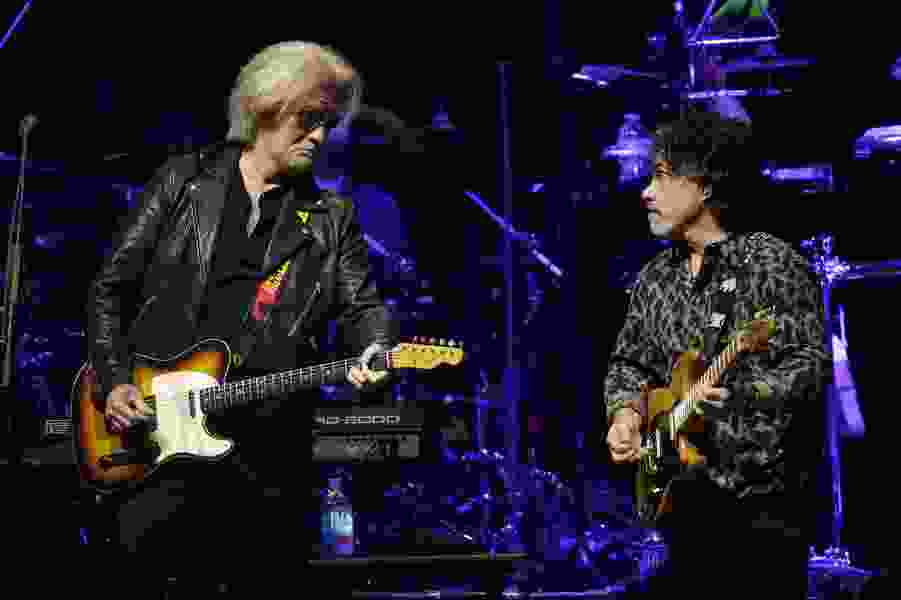 'Hall and Oates'? They can't go for that. But 'Daryl Hall & John Oates' will be performing in Salt Lake City on Tuesday.