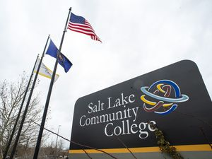 (Rick Egan | The Salt Lake Tribune) The Salt Lake Community College Redwood Road campus is pictured Thursday, Dec. 12, 2019. The school will be requiring that students get vaccinated against COVID-19 for spring semester 2022.