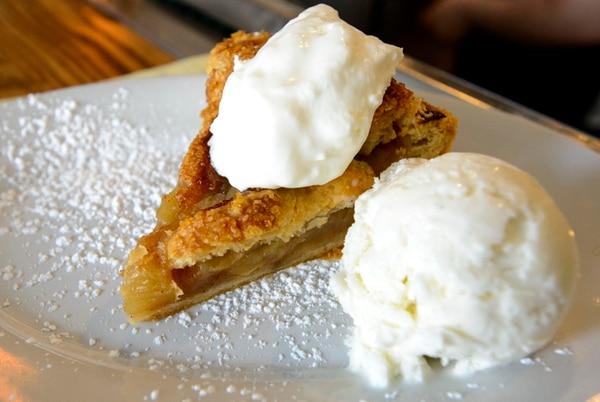 (Steve Griffin | The Salt Lake Tribune) The apple pie at Tradition, a new restaurant that specializes in comfort food in Salt Lake City.