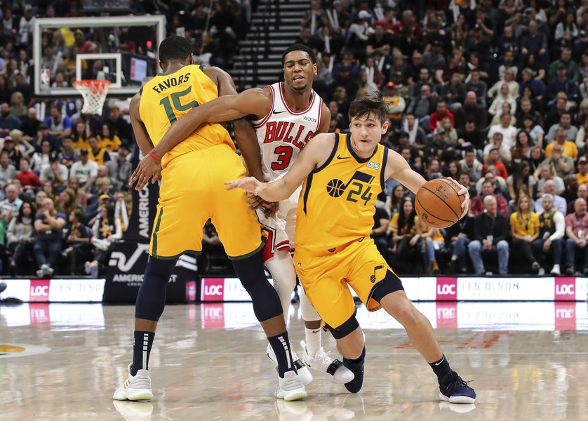 6d062e6a63bf Jazz rookie Grayson Allen has had a lot of ups and downs during his first  NBA season. Where does he sit as the season turns the corner
