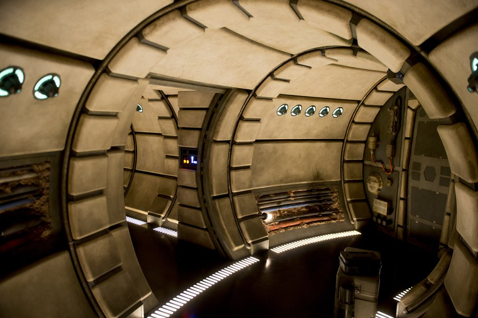 (Jeremy Harmon | The Salt Lake Tribune) The interior of the Millennium Falcon at Star Wars: Galaxy's Edge in Anaheim, Ca. on Wednesday, May 29, 2019.
