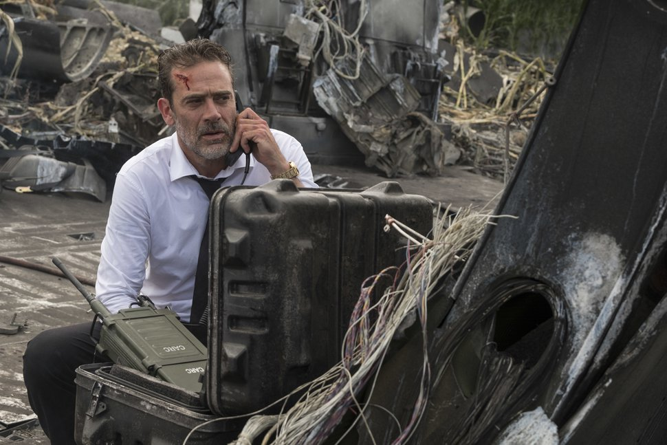 This image released by Warner Bros. shows Jeffrey Dean Morgan in a scene from
