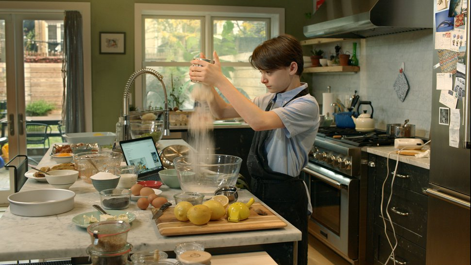 (Alex Korolkovas | Courtesy of Sundance Institute) A teen (Noah Schnapp) tries to bridge the Israeli and Palestinian sides of his family through food in