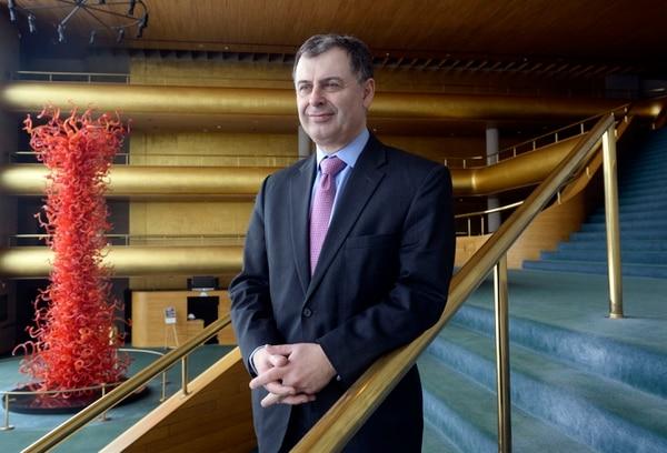 Al Hartmann | The Salt Lake Tribune Utah Symphony | Utah Opera CEO, Paul Meecham in Abravanel Hall in Salt Lake City.