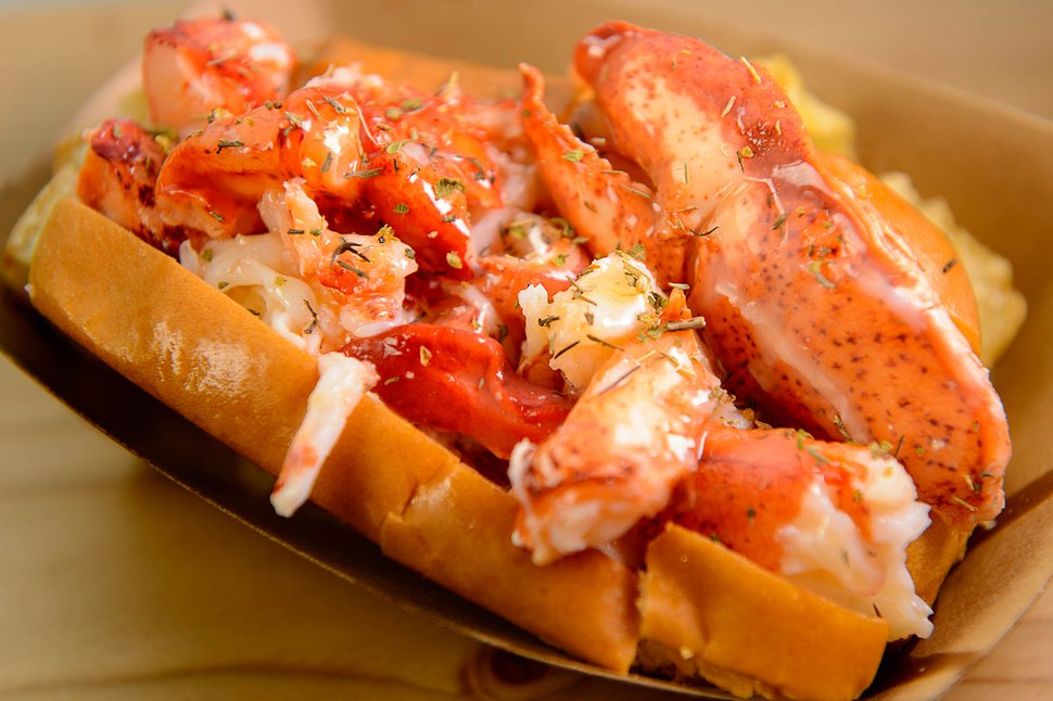 (Trent Nelson | The Salt Lake Tribune) A lobster roll at Freshie's Lobster Co. in Park City.
