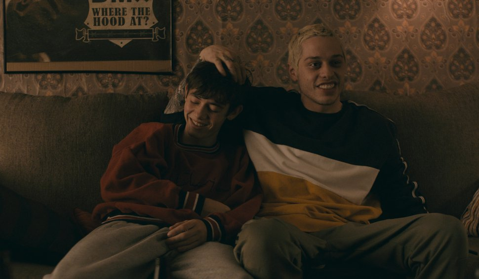(Photo courtesy Sundance Institute) A teen (Griffin Gluck, left) and his college dropout best friend (Pete Davidson) are at the center of