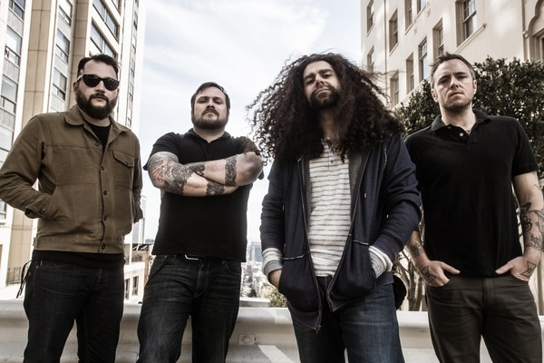 Courtesy photo Coheed and Cambria, with vocalist Claudio Sanchez second from right