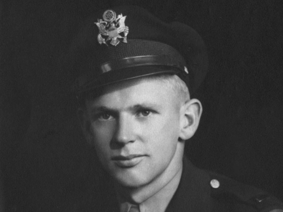 (Photo courtesy of Utah National Guard) Army Air Forces 2nd Lt. Lynn W. Hadfield, of Salt Lake City, was killed in a crash while flying a bomber aircraft on March 21, 1945, in Germany. His remains, in addition to his crew members', were found in 2016. On Tuesday, March 19, 2019, his remains will be returned to his family. He will be buried Thursday, 74 years to the date of his crash, at Veterans Memorial Park in Bluffdale.)