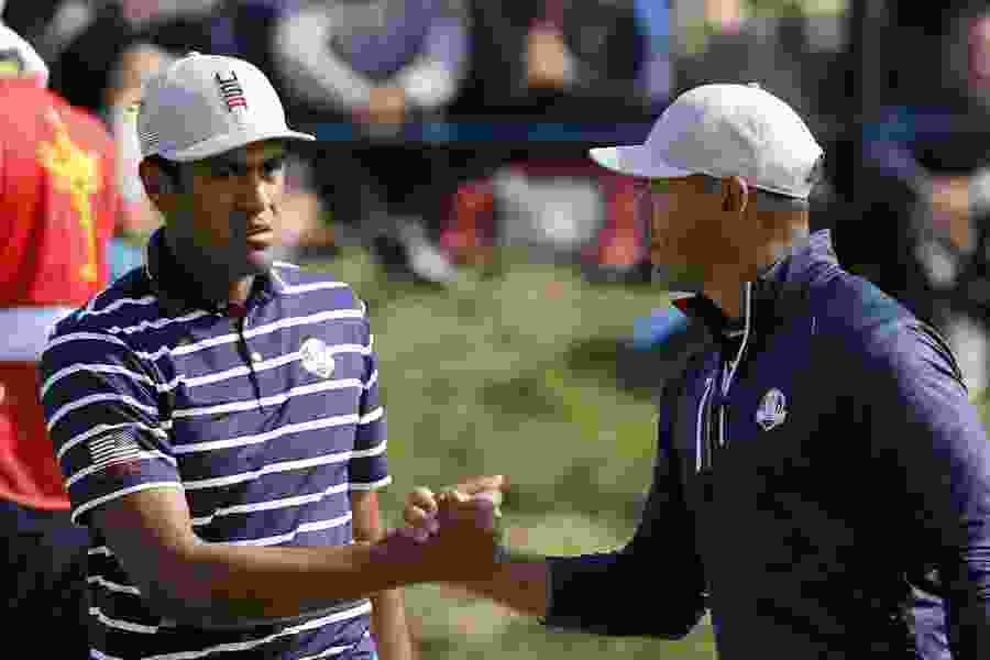 Utah's Tony Finau ends his first Ryder Cup appearance with a dominating effort