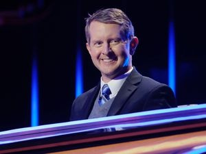 "(Photo courtesy of Ron Batzdorff | ABC) Ken Jennings is one of the ""Jeopardy!"" stars on ""The Chase."""