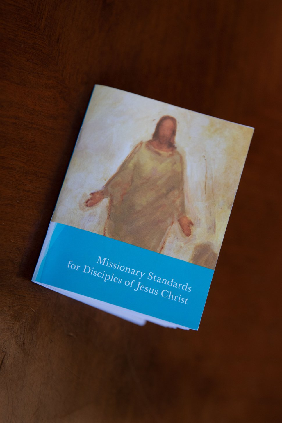"(Photo courtesy of The Church of Jesus Christ of Latter-day Saints) The new missionary handbook, ""Missionary Standards for Disciples of Jesus Christ."""