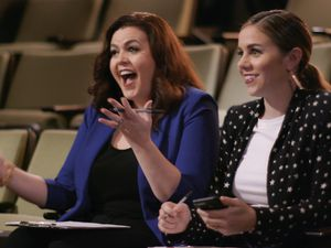 """(Photo courtesy of Netflix) Melissa Curtis and Colleen Wilson star in """"Pet Stars."""""""
