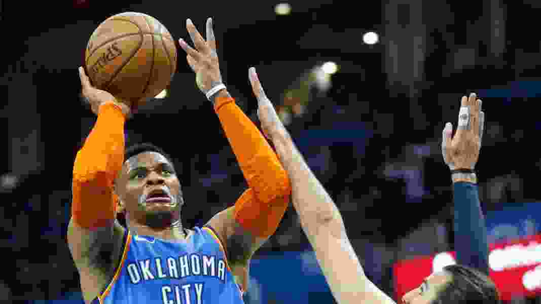 George hits winner, scores 45 as Thunder beat Jazz in two OT