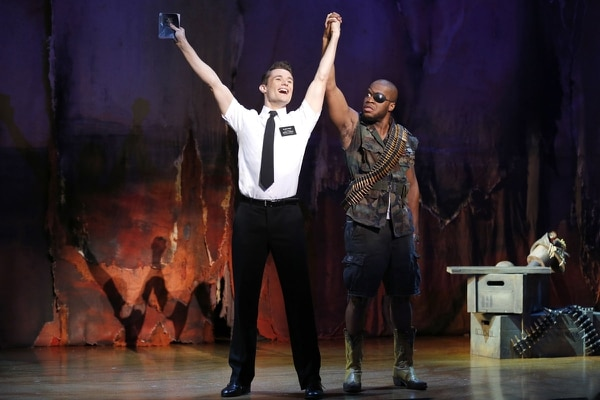 Courtesy | MagicSpace/Broadway Across America First national tour cast in the