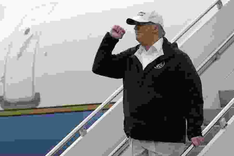 Trump threatens emergency declaration, visits Texas border