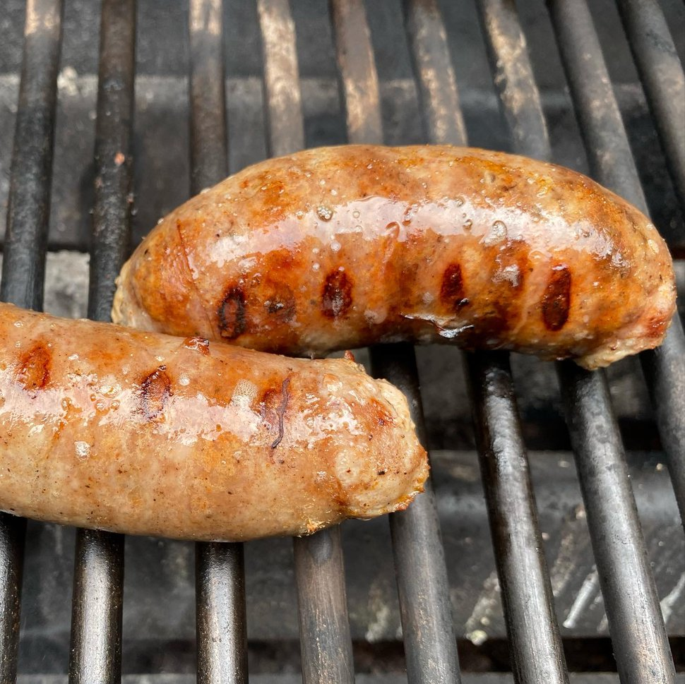 (Heather L. King | Special to The Salt Lake Tribune) Bratwursts from Schtele Sausage, an Ogden company that makes traditional bratwurst and other recipes.