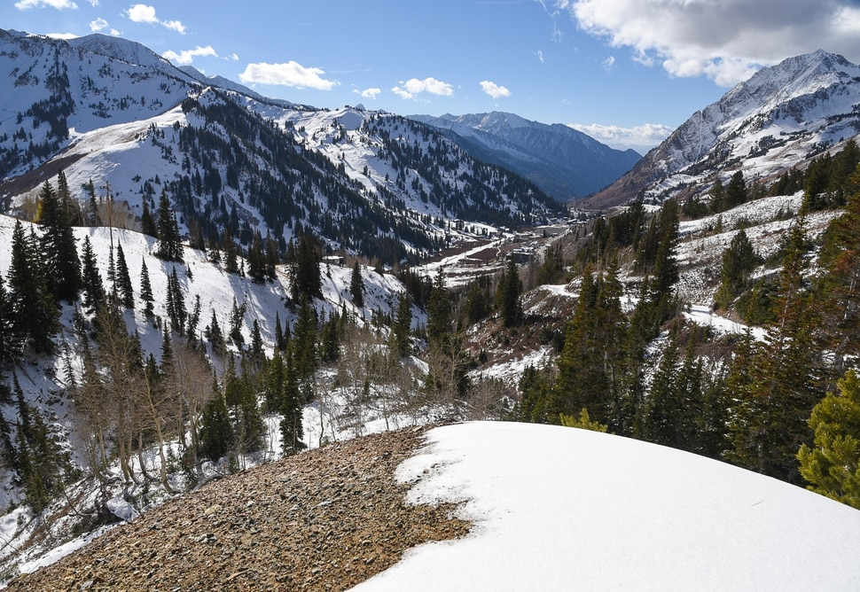 (Francisco Kjolseth | The Salt Lake Tribune) Alta Ski Area, pictured below Grizzly Gulch, will not be included in the proposed Central Wasatch National Conservation and Recreation Area.