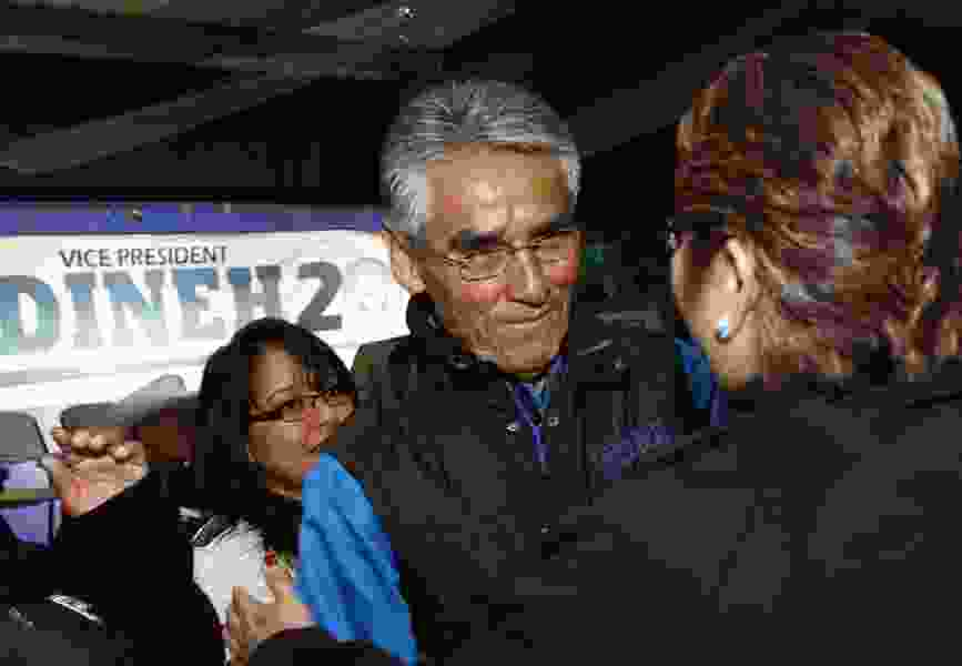Navajos to narrow record list of 18 presidential candidates