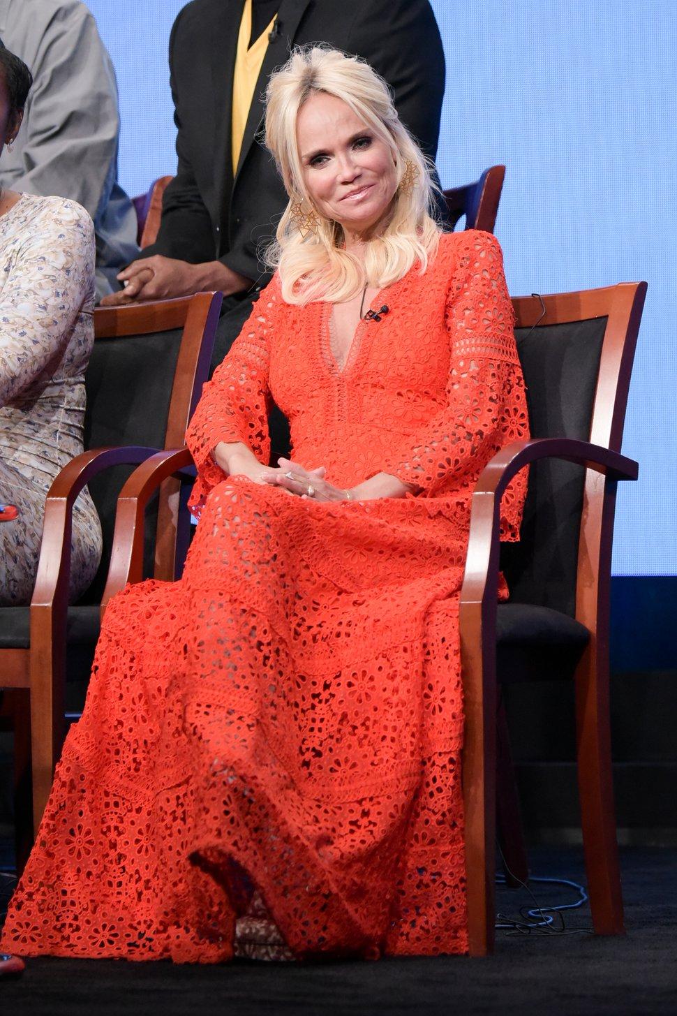 Kristin Chenoweth participates in the