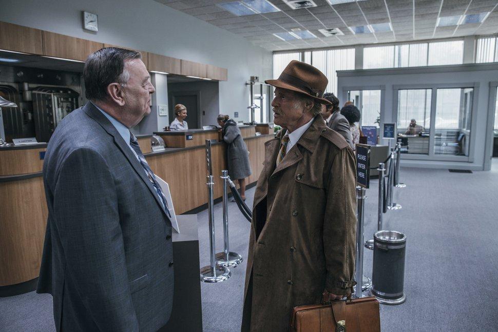 (Eric Zachanowich | Fox Searchlight via AP) Gene Jones, left, and Robert Redford in a scene from