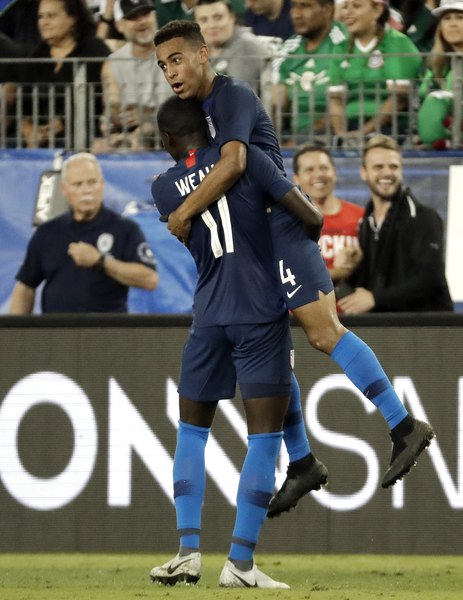 a0c4a4516 Tyler Adams scores first goal to give U.S. 1-0 win over Mexico - The ...