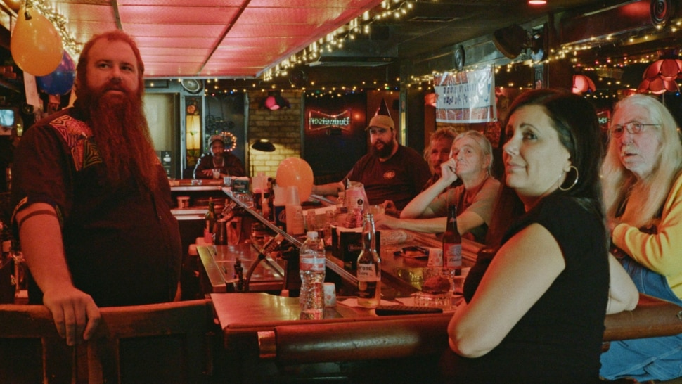 (Photo courtesy of Sundance Institute) Regulars at a Las Vegas bar that is profiled in Bloody Nose, Empty Pockets, directed by Bill Ross and Turner Ross, an official selection of the U.S. Documentary Competition at the 2020 Sundance Film Festival.