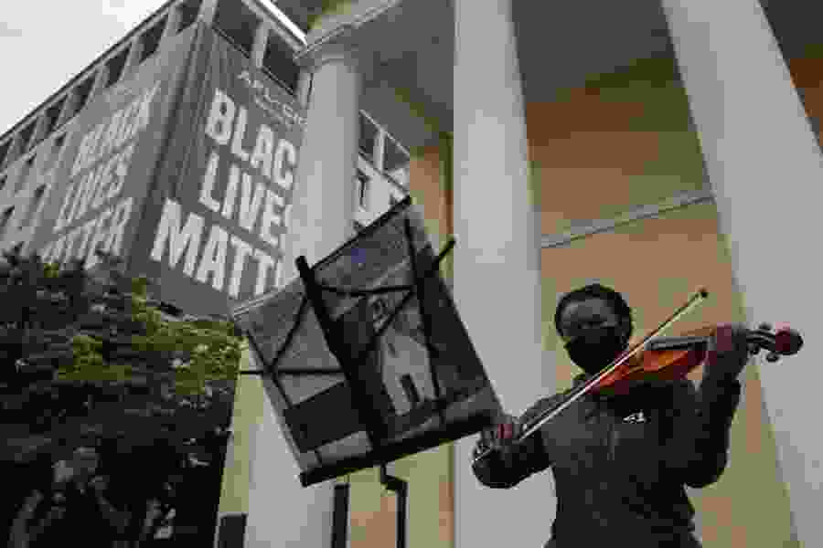 The Conversation: Far from being anti-religious, faith and spirituality run deep in Black Lives Matter