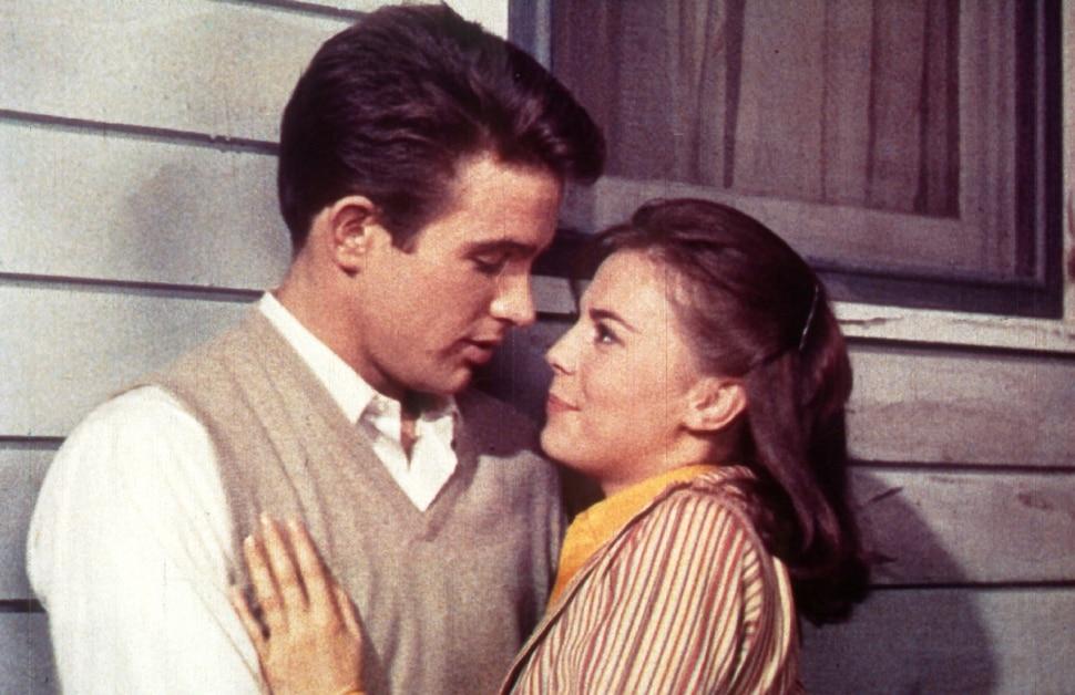(Courtesy Warner Bros.) Warren Beatty and Natalie Wood play high-school sweethearts in director Elia Kazan's 1961 drama