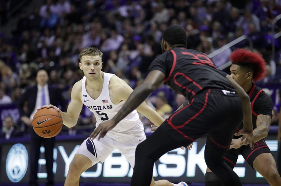 Jake Toolson's second stint at BYU is going a whole lot better than the first