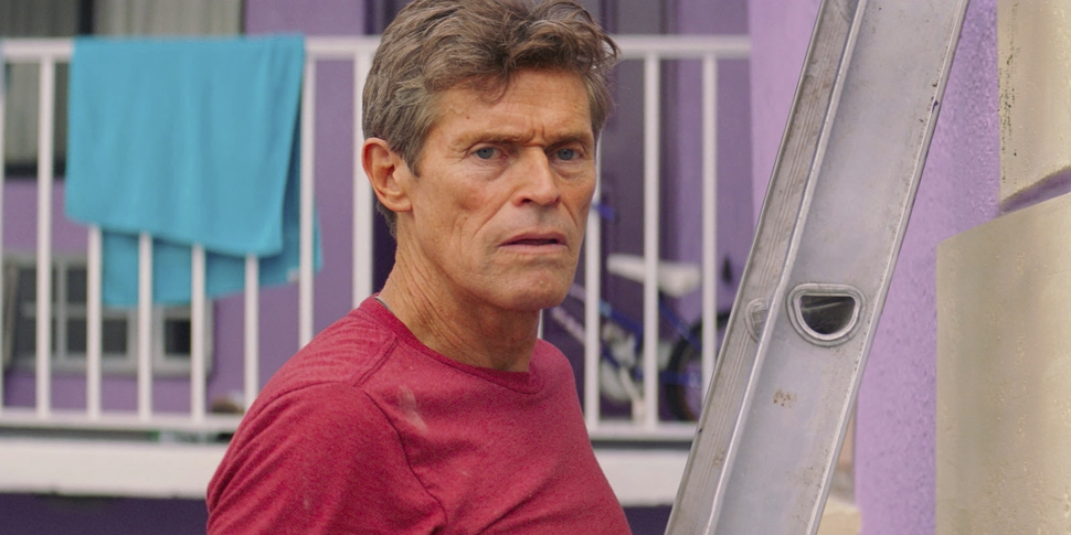 This image released by A24 shows Willem Dafoe in a scene from The Florida Project. On Monday, Dec. 11, 2017, Dafoe was nominated for a Golden Globe for best supporting actor in a motion picture for his role in the film. The 75th Golden Globe Awards will be held on Sunday, Jan. 7, 2018 on NBC. (A24 via AP)