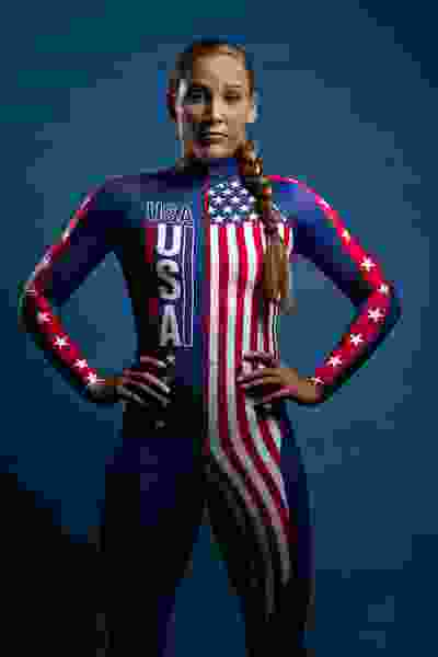 Lolo Jones earned bronze in her final race in Park City and has her eyes on a first Olympic medal
