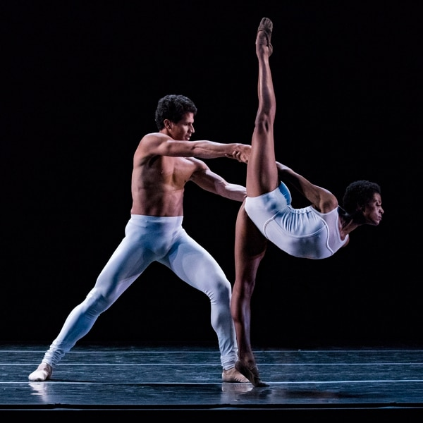 (Courtesy photograph by Beau Pearson) Ballet West dancers Katlyn Addison and Hadriel Diniz in in Africa Guzmán's